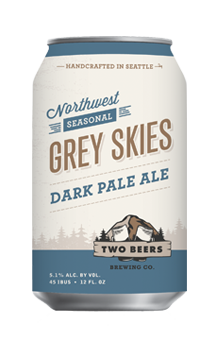 Grey Skies Dark Pale Ale