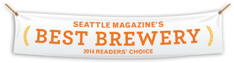 Seattle Magazine's Best Brewery 2014 Readers' Choice